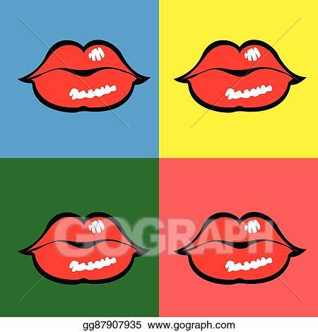 Vector Art Comic Pop Art Clipart Drawing Gg87907935 Gograph