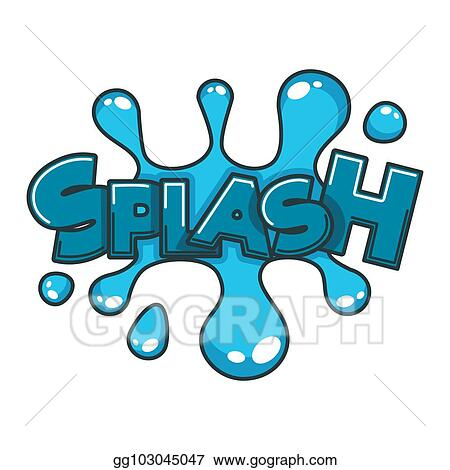 vector clipart comic splash water speech bubble cloud explode cartoon vector icon vector illustration gg103045047 gograph https www gograph com clipart license summary gg103045047