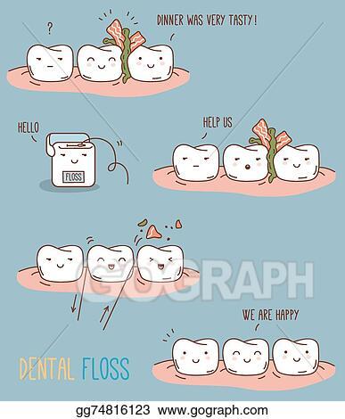 Comics About Dental Floss