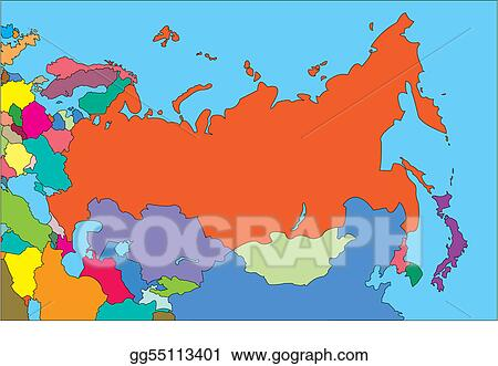 Eps Vector Comonwealth Of Independent States Russia And Countries