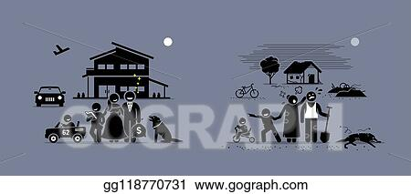 illustration of different family isolated Stock Photo - Alamy