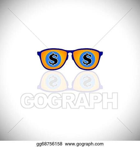 917fe03452b6 Vector Illustration - Concept vector of rich man with sunglasses ...