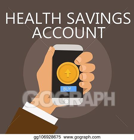 conceptual hand writing showing health savings account business photo showcasing users with high deductible health insurance policy