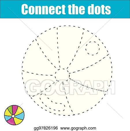 Vector Stock - Connect the dots. children educational game ...