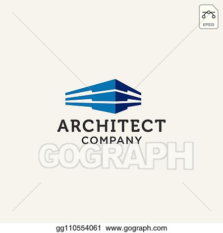 Vector Illustration Construction Architect Logo Design Icon