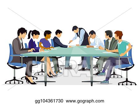 Stock Illustration - Consultation, seminar and training ...