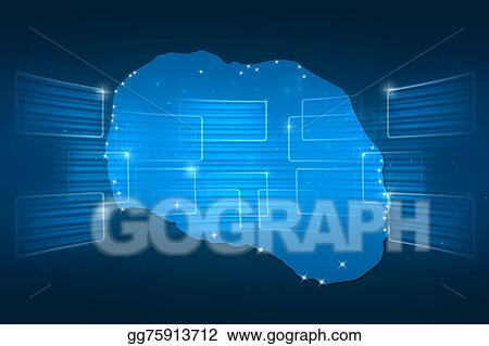 Cook Islands On World Map.Clip Art Cook Islands Map World Map News Communication Blue Stock