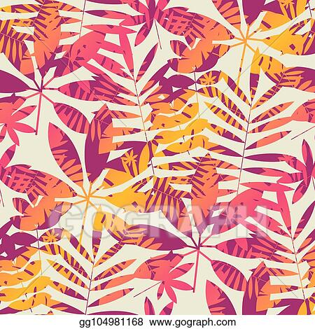 Eps Vector Cool Vivid Bright Color Tropical Leaves Seamless Pattern Stock Clipart Illustration Gg104981168 Gograph A man leaving for overseas might give his girlfriend. https www gograph com clipart license summary gg104981168