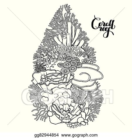 Great Barrier Reef Coloring Pages   470x450