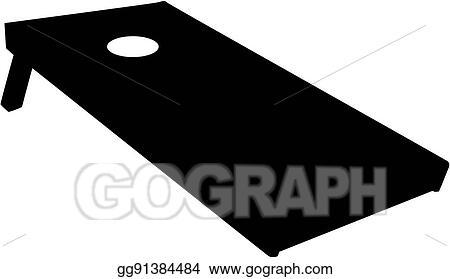 vector stock cornhole board clipart illustration gg91384484 gograph rh gograph com Basketball Clip Art Basketball Clip Art
