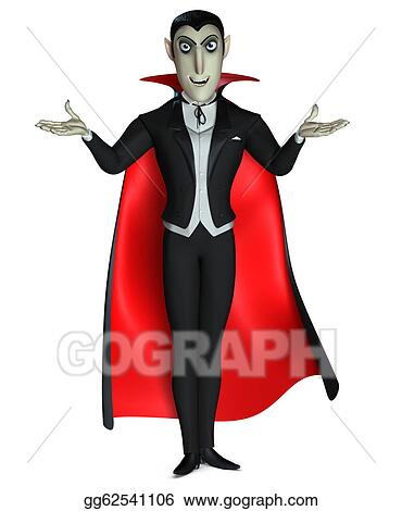 stock illustration count dracula clipart drawing gg62541106 gograph rh gograph com dracula clipart cute dracula clipart images