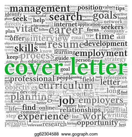 Stock Illustration - Cover letter concept . Stock Art Illustrations ...