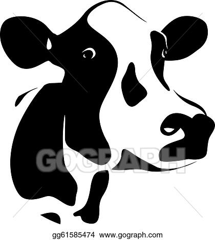 cow head clip art royalty free gograph rh gograph com dairy cow head clip art cow head clip art black and white