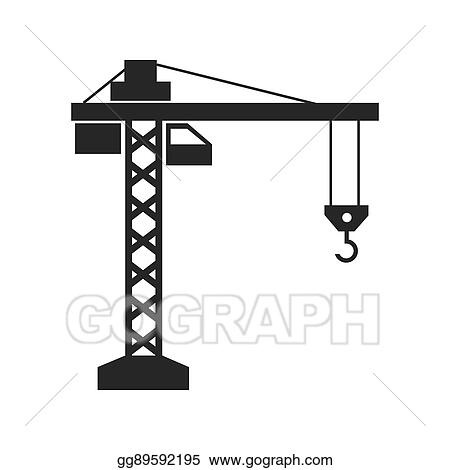Cartoon Construction Site Crane Design, Cartoon, Illustration, Building PNG  Transparent Clipart Image and PSD File for Free Download