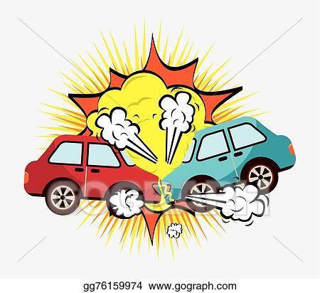 vector art crash cars eps clipart gg76159974 gograph rh gograph com car crash clip art free car crash clip art for kids