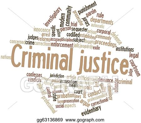stock illustration criminal justice clipart illustrations rh gograph com free clipart for criminal justice Criminal Justice Symbols