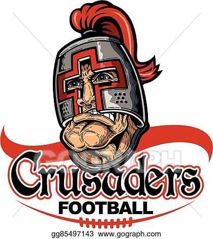 Vector Clipart Crusaders Football Vector Illustration Gg85497143