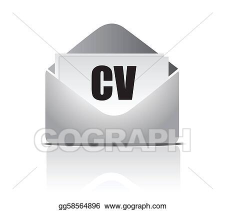 Vector Illustration Curriculum Vitae Resume Eps Clipart