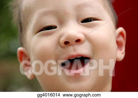 Gorgeous oriental boys with braces