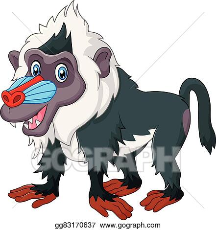 baboon clip art royalty free gograph rh gograph com baboon clipart free Zebra Clip Art