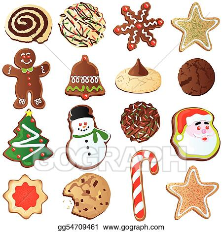 christmas cookie pictures clip art