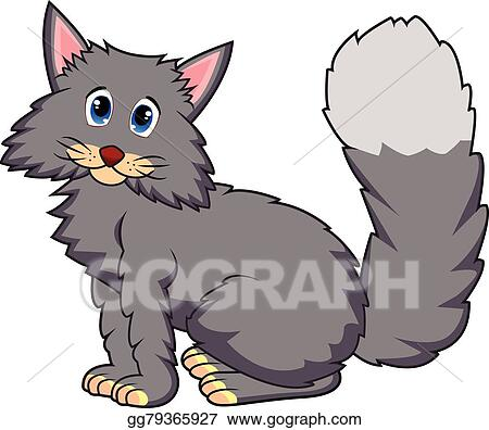 Grey Cat Clip Art Royalty Free Gograph