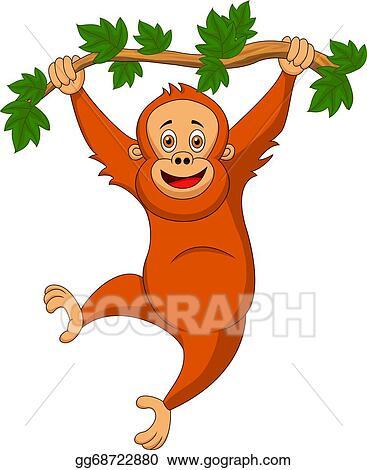 orangutan clip art royalty free gograph rh gograph com orangutan clipart png baby orangutan clipart