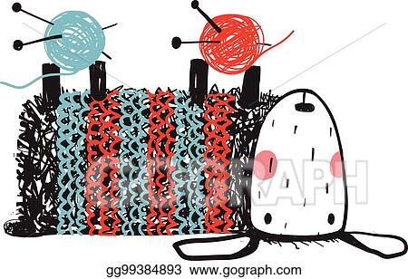 Knitting, Collection Vector & Photo (Free Trial) | Bigstock