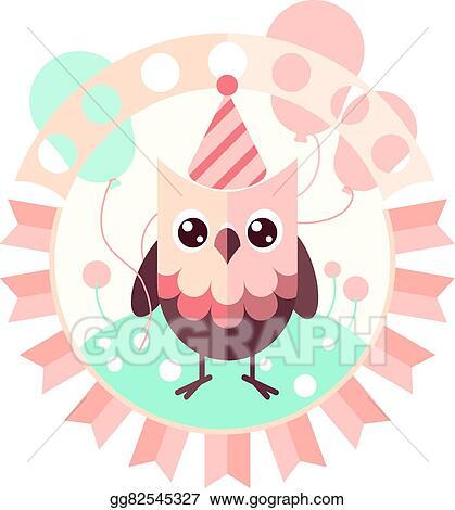 Vector art cute vector owl clipart drawing gg82545327 gograph cute vector owl stopboris Choice Image