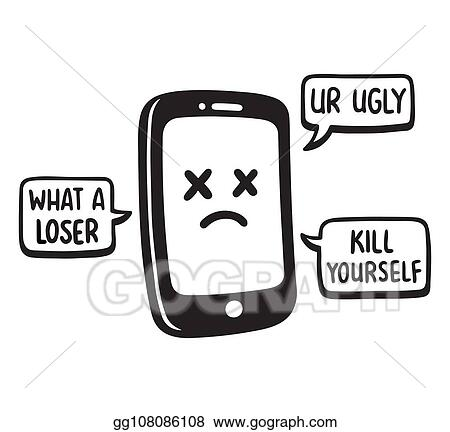 Cyber Bullying Stock Illustrations, Cliparts And Royalty Free Cyber Bullying  Vectors