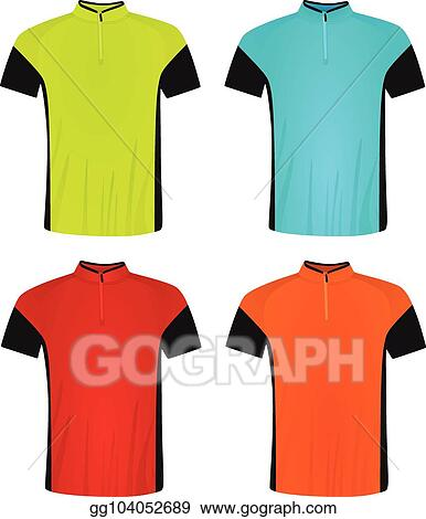 EPS Illustration - Cycling jersey. Vector Clipart gg104052689 - GoGraph d8c421fe2