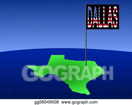 Dallas On A Map Of Texas.Drawing Dallas On Texas Map Clipart Drawing Gg56049508 Gograph