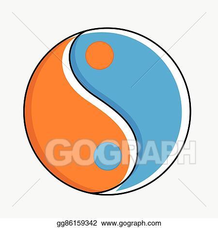 Eps Vector Daoism Symbol Stock Clipart Illustration Gg86159342
