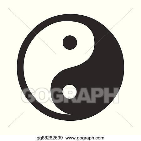Eps Vector Daoism Vector Symbol Stock Clipart Illustration