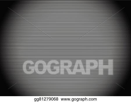 Horizontal Line Art : Vector illustration dark stripes background with thin lines
