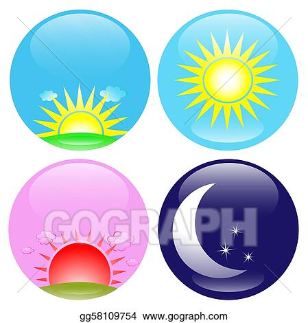 afternoon sun clip art royalty free gograph rh gograph com Bath Time Clip Art afternoon sun clipart free