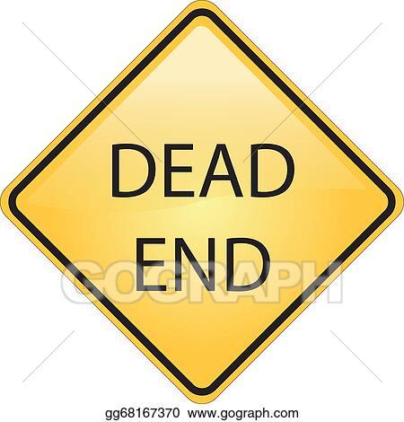 Vector Stock Dead End Road Symbol Clipart Illustration Gg68167370
