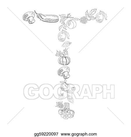 decorative font letter t