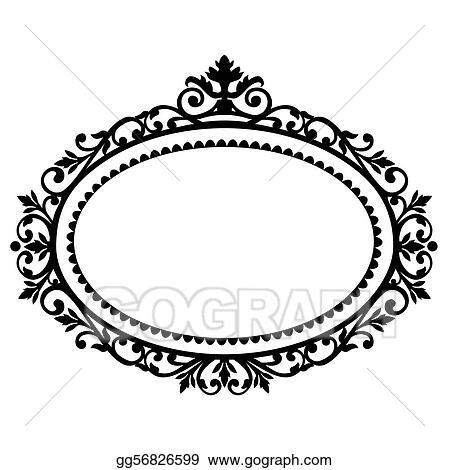 Ornate Border Clip Art Royalty Free Gograph
