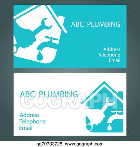 Clip art vector design business cards for plumbing stock eps design business cards for plumbing colourmoves
