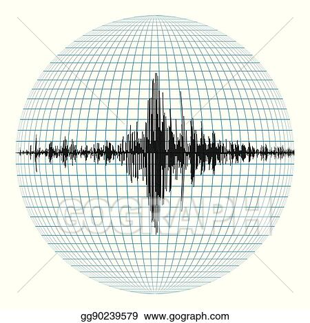 Vector Art Diagram Of The Earthquake Clipart Drawing Gg90239579