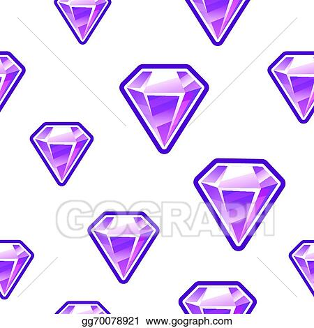 Vector Art - Diamond background  EPS clipart gg70078921