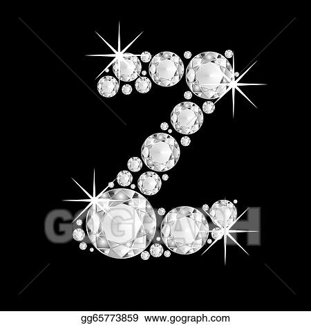 Drawing Diamonds Alphabet Capital Letter Z Clipart Drawing