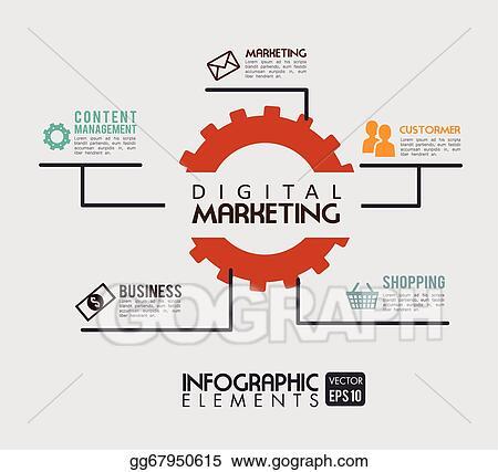 vector stock digital marketing stock clip art gg67950615 gograph https www gograph com clipart license summary gg67950615