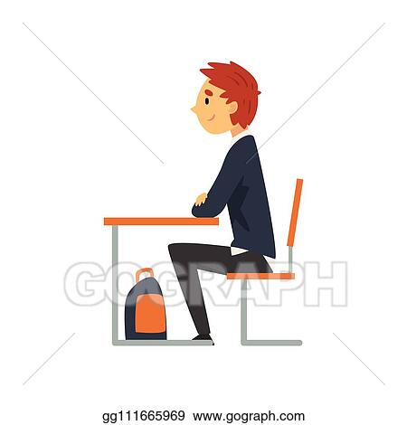 Kids Classroom. Illustration Of Happy Students Studying In Classroom.  Royalty Free Cliparts, Vectors, And Stock Illustration. Image 115075704.