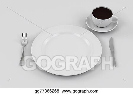 Dinner Plate Knife and Fork coffee cup : dinner plate setting - Pezcame.Com