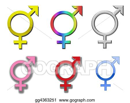 clip art diversity symbols stock illustration gg4363251 gograph rh gograph com Diversity Day Clip Art Key Clip Art