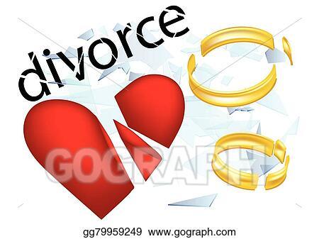 vector clipart divorce vector illustration gg79959249 gograph rh gograph com Happy Divorce Clip Art divorce marriage clipart