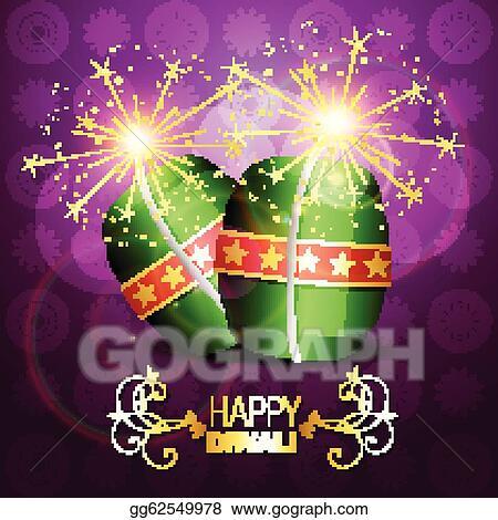 diwali crackers background