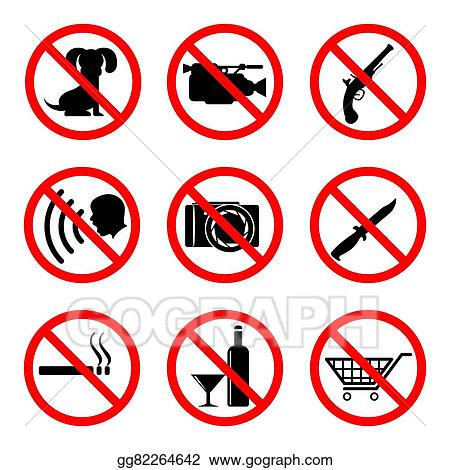 Do Not Signs Clip Art